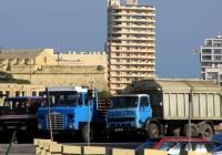 Разнообразные грузовики . Мальта, Валлетта