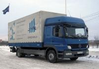Бортовой грузовой автомобиль Mercedes-Benz Atego #Х 774 АА 186 . Тюмень, Алебашевская улица