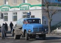 Ассенизационная машина на шасси ЗиЛ-431412 #У 888 КЕ 45. Курган, улица Ленина