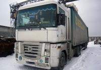 Седельный тягач Renault Magnum* #Т 384 ЕК 96 с полуприцепом. Свердловская область, Луговской