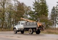 Бурильно-крановая машина БКМ-317 на шасси ГАЗ-33081. Тернопольская область, г. Чортков