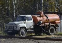 Топливозаправщик АЦ-4,2-53А на шасси ГАЗ-53-12 #О 612 МЕ 72 . Свердловская область, Тугулым