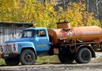 Топливозаправщик АЦ-4,2-53 на шасси ГАЗ-53-12 #О 642 МН 72 . Свердловская область, Тугулым