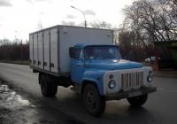 Хлебный фургон на шасси ГАЗ-53-12 #К 853 ВО 72 . Тюмень, Аккумуляторная улица