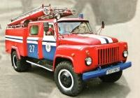 Пожарная автоцистерна АЦ-30(53-12)-106В.01 на шасси ГАЗ-53-12 #1581 МИО. Минск