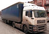 Седельный тягач MAN TGA 18.390 #М718ММ134. Самара, Волжский проспект