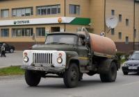 Вакуумная машина КО-503В-2 на шасси ГАЗ-53-14 #К 630 РВ 66 . Свердловская область, Талица, улица Луначарского
