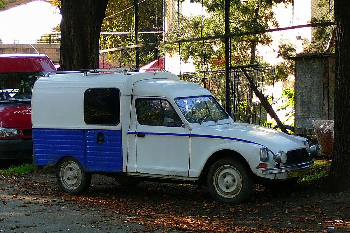 Фургон Citroën Acadiane . Чехия, Прага