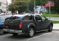 Пикап Nissan Navara, #6A5 2107. Чехия, Прага