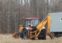 Экскаватор-погрузчик ДЭМ-114 на базе трактора Беларус-92П # 1118 ЕР 31. Белгородская область, г. Алексеевка