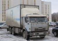 Фургон на базе КамАЗ-53212 #O 101 EE 64. Курган, Троицкая площадь