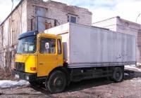 Фургон на шасси MAN 14-392 #С 388 УВ 197. Самара, улица Максима Горького
