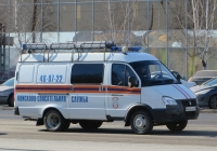 """Поисково-спасательная машина 29852Н на базе ГАЗ-2705 """"Газель"""" #Н 666 КЕ 45. Курган, улица Ленина"""