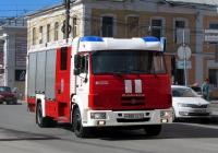 Автомобиль-цистерна АЦ-2,0-40(4308)-004МС на шасси КамАЗ-4308. Калуга, улица Суворова