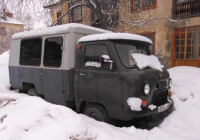 Автоклуб на шасси УАЗ-452Д #С870ВО63. Самара, Красноглинский р-н, ул. 8 марта