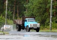 Самосвал ГАЗ-САЗ-3507 на шасси ГАЗ-53-14 #Е 807 ЕО 63. Тольятти, улица Комзина