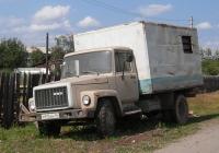 Продуктовый фургон на шасси ГАЗ-3307 #М 915 ВН 96 . Свердловская область, Луговской, Восточная улица