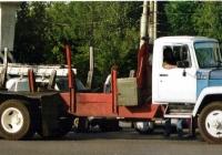 Внутризаводской автомобиль на базе ГАЗ-3307. Нижний Новгород (Горький)