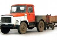 Внутризаводской тягач на базе автомобиля ГАЗ-3307. Нижний Новгород, автозавод ГАЗ