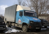 Фургон АФ-4741TC на шасси ЗИЛ-5301К2 #Н 513 ЕМ 72 . Тюмень, улица Щорса