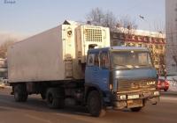 Седельный тягач Škoda-LIAZ 110 #В 739 УМ 72 с полуприцепом-рефрижиратором. Тюмень, улица Пермякова