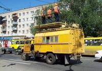 Автомобиль аварийной службы на шасси ЗиЛ-130 #С 131 ХЕ 63. Тольятти, улица Мира