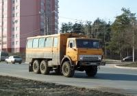 Вахтовый автобус НефАЗ-4208 на шасси КамАЗ-43101 #Е 139 МР 63. Тольятти, Коммунистическая улица