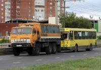 Вахтовый автобус НЗАС-4208 на шасси КамАЗ-43101 #Е 309 СВ 63. Тольятти, Спортивная улица