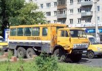 Вахтовый автобус НЗАС-4208 на базе КамАЗ-43101 #Е 309 СВ 63. Тольятти, улица Мира