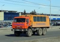 Вахтовый автобус НЗАС-4208 на шасси КамАЗ-43101 #Е 139 МР 63. Тольятти, Южное шоссе