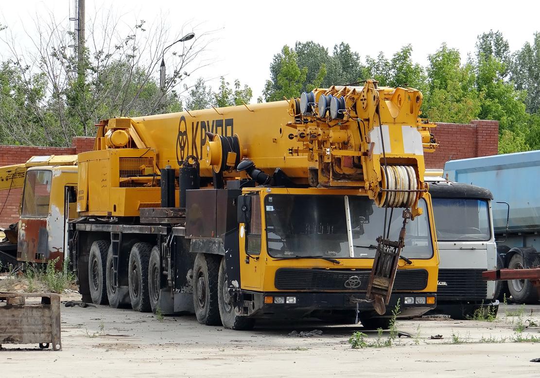 Автокран Krupp KMK 6200 ?. Тольятти, Поволжское шоссе