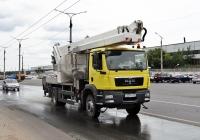 Автоподъёмник на шасси MAN TGS #О 230 УР 163. Тольятти, Поволжское шоссе