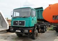 Седельный тягач MAN F90 33.422 #А 659 УУ 63. Тольятти, Поволжское шоссе