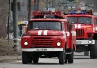 Пожарная автоцистерна АЦ-40(130)-63Б на шасси ЗиЛ-130-80 #7937 КШМ. Тольятти, улица Лизы Чайкиной