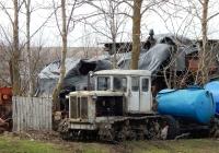 Трактор Т-74. Белгородская область, Алексеевский район, с. Меняйлово