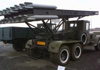 Макет РЗСО БМ-13 на шасси ЗиС-6 #ДИНА-04. Тюмень, улица Федюнинского