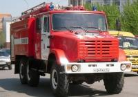 Пожарная автоцистерна АЦ-3,-40(4334)-3ВР на шасси ЗиЛ-433442 #К 269 КЕ 72. Тюмень, улица Мельникайте