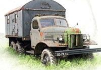 Фургон КУНГ-1М на шасси ЗиЛ-157К #03-74 ГК. Тульская область, Черноусово