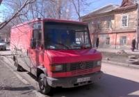Цельнометаллический фургон Mercedes-Benz T2 Neu 711D Kastenwagen #У638СВ63. Самара, улица Чапаевская