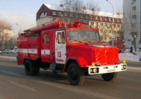 Пожарная автоцистерна АЦ-3,2-40(4331)-8ВР на шасси ЗиЛ-433112 #А 507 ОН 72 . Тюмень, улица Пермякова