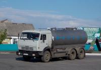 Автоцистерна Г6-ОПА-8,1 на шасси КамАЗ-53215 # Е 020 УУ 31. Белгородская область, г. Алексеевка, ул. Тимирязева