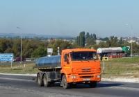 Автоцистерна на шасси КамАЗ-65115 # Н 138 АМ 31. Белгородская область, г. Алексеевка, ул. Чапаева