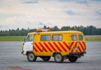 Автомобиль сопровождения на базе УАЗ #М 064 РО 70. Томская область, посёлок Аэропорт, аэропорт Томск
