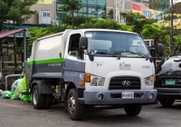Мусоровоз на шасси Hyundai. Корея, Сеул