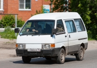 Микроавтобус Nissan Vanette #О 566 ЕА 70. Томск, 1-я Рабочая улица