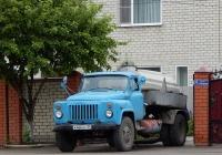 Ассенизационная машина на шасси ГАЗ-53-12 # К 466 ВУ 31. Белгородская область, г. Алексеевка, ул. Павла Ющенко