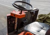 Электротележка ЕТ-2013 для перевозки багажа. Томская область, посёлок Аэропорт, аэропорт Томск