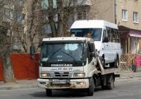 Эвакуатор на шасси Foton Auman. Калуга, Октябрьская улица