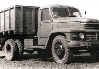Седельный тягач на базе ДАЗ-150 #УИ 28-16 с полуприцепом 1-ПП-7 #УИ 00-92. Днепропетровская область