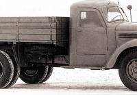 Грузовой автомобиль ЗиС-150. Москва